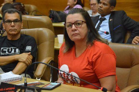 """""""Professor pode morrer e não ter o benefício da aposentadoria"""", diz Ivonete Cruz"""