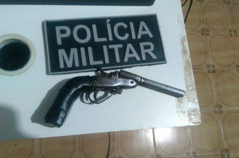 PM prende 2 homens e apreende maconha e um revólver em Estância