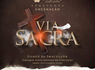 Espetáculo no Shopping Prêmio vai retratar a Via Sacra