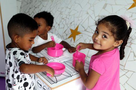 Material pedagógico contribui para aprendizado das crianças da rede municipal