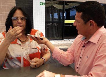 Ministra concede entrevista exclusiva a Carlos Ferreira e confirma casos de corrupção praticados pelos governos do PT