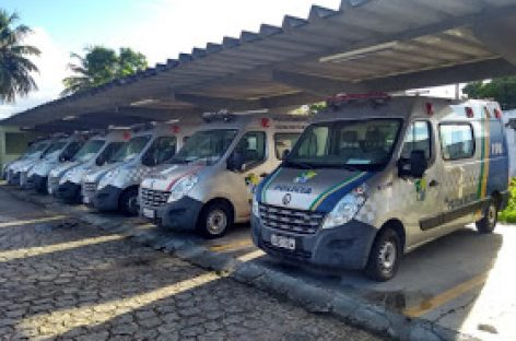 Amese: mais de 30 viaturas estão baixadas, sem manutenção, no quartel da PM