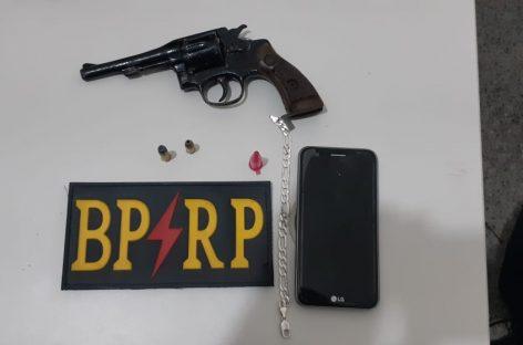Policiais da Radiopatrulha apreende duas armas e prende dois suspeitos