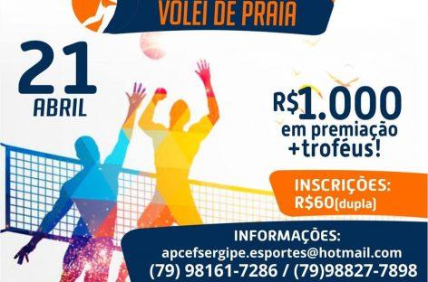 II Copa APCEF de Vôlei de Praia será no domingo de Páscoa