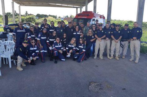 Operação Semana Santa: SAMU conscientiza condutores na BR 101