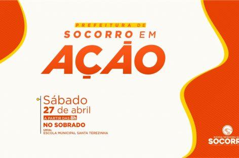 Prefeitura de Socorro em Ação: Terceira edição do evento será realizada no Povoado Sobrado