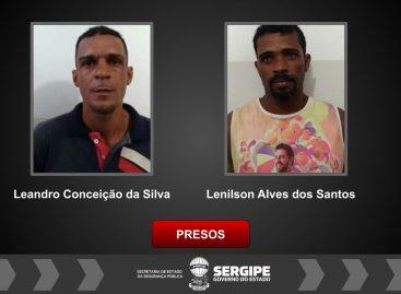 BPRp prende dois homens por roubo em Nossa Senhora do Socorro