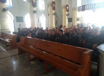 2º Batalhão da PM/SE realiza missa de páscoa na igreja catedral de Propriá