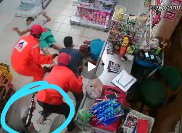 PM prende suspeito de roubo a mercadinho no Santa Maria