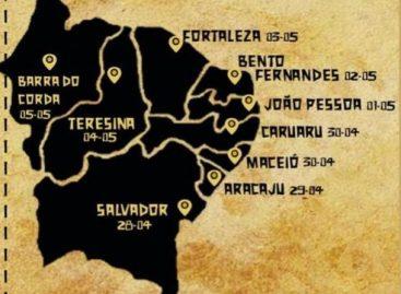 Aracaju recebe Caravana Juventude pelo Nordeste