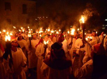 Procissão do Fogaréu acontece dia 18 de abril em São Cristóvão