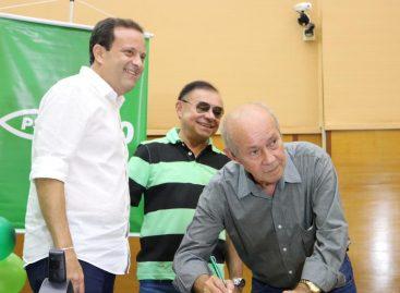 Gilmar participa de ato de filiações e confirma pré-candidatura