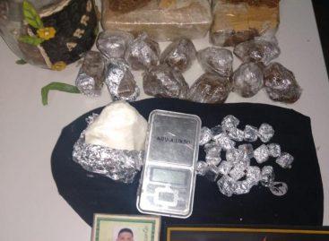 BPRP apreende mais de 1 quilo de maconha e 200 gramas de cocaína