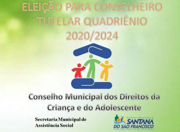 Prefeitura de Santana do São Francisco lança Edital para escolha de Conselheiros Tutelares