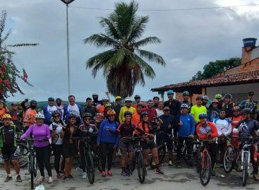 Pedal abre a semana comemorativa da Emancipação Política de Santana do São Francisco