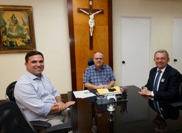 Belivaldo se reúne com Felizola e o novo secretário da fazenda