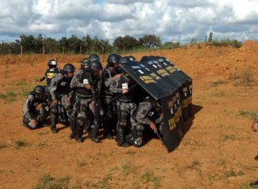 Policiais militares de Sergipe destacam-se durante Estágio na Força Nacional