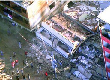 Desabamento de prédios deixa pelo menos dois mortos no Rio de Janeiro
