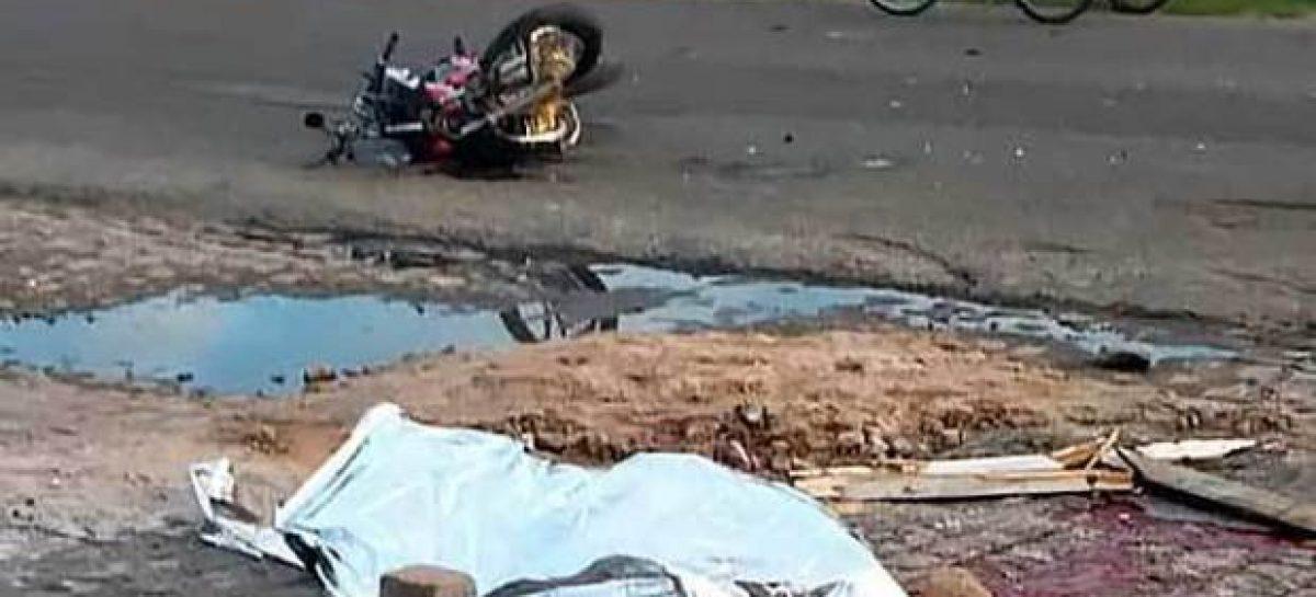 Colisão entre moto e caminhão deixa uma vítima fatal em Lagarto