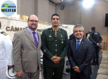 Câmara Municipal de Aracaju realiza sessão solene alusiva ao Dia do Exército