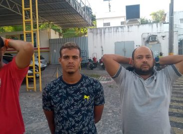 CPTRAN prende três elementos por tráfico de drogas no Capucho