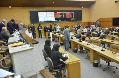 Projetos são aprovados por unanimidade no plenário da Assembleia