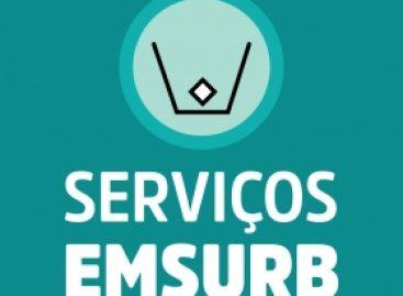 Confira a programação dos serviços da Emsurb para esta quarta-feira, 24, em Aracaju