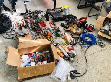 Homem é preso com R$ 200 mil em equipamentos da termoelétrica