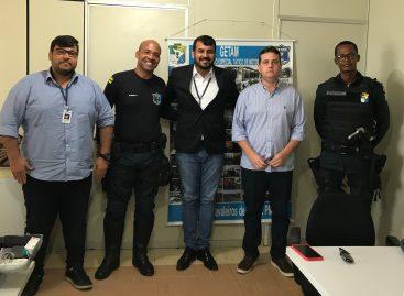 Diretoria do Detran/SE visita sede do Getam em Aracaju