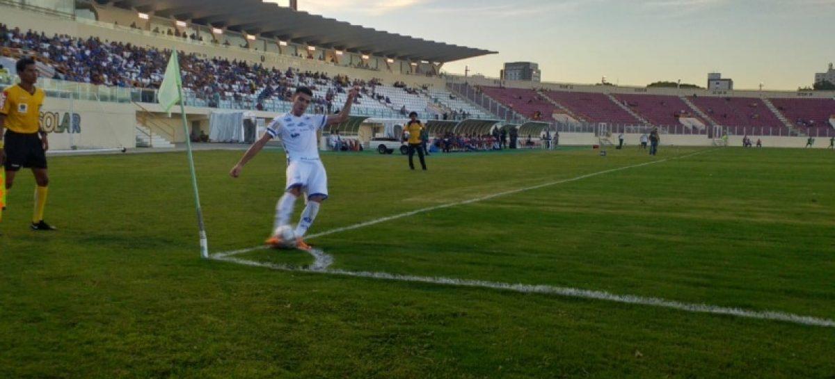 Confiança perde na estreia da Série C para o Sampaio Corrêa