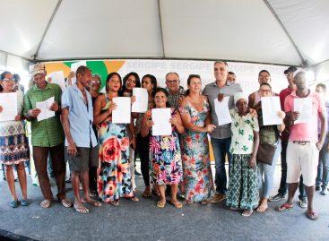 Governo entrega concessões de regularização fundiária a famílias de Lagarto