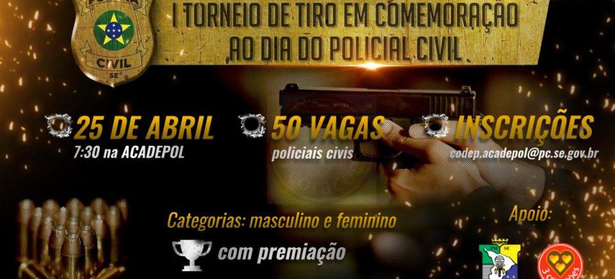 Polícia Civil abre inscrições para I Torneio de Tiro em comemoração ao Dia do Policial Civil