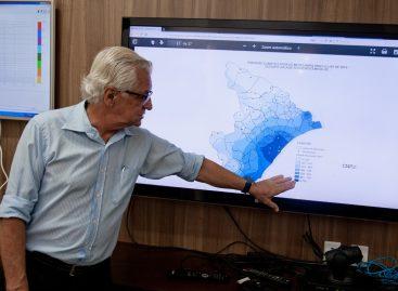 Centro de Meteorologia prevê chuvas acima da média nos próximos três meses