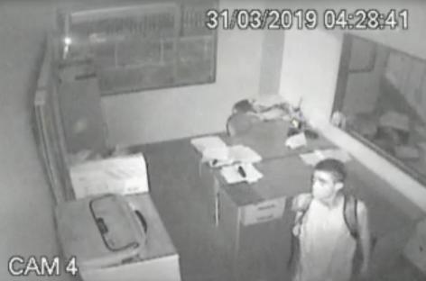 Polícia Civil divulga imagens de furto em empresa na capital