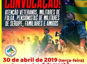 Convocação urgente em prol dos veteranos de Sergipe