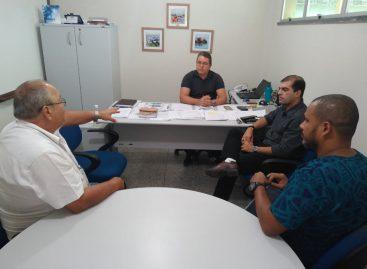 Prefeito busca soluções para o abastecimento de Água em Santana do São Francisco