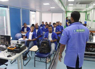 Rosarenses estão sendo capacitados em cursos profissionalizantes de diversas áreas industriais