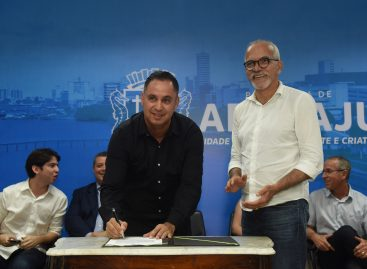 Edvaldo empossa Antônio Hora e anuncia Jorginho Araújo secretário de Governo