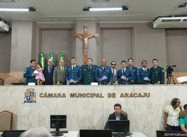 Vereador Cabo Didi e Jason homenageiam militares do Corpo de Bombeiros
