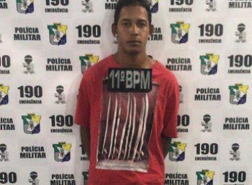 11º Batalhão de Polícia prende traficante armado em Tobias Barreto