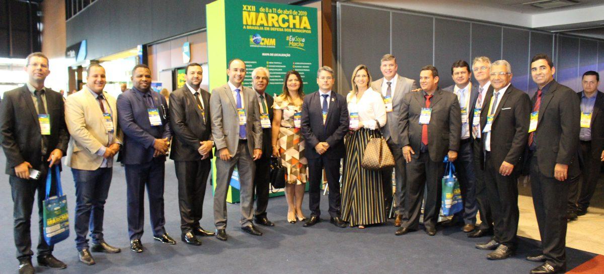 Alessandro Vieira prestigia prefeitos sergipanos em Brasília