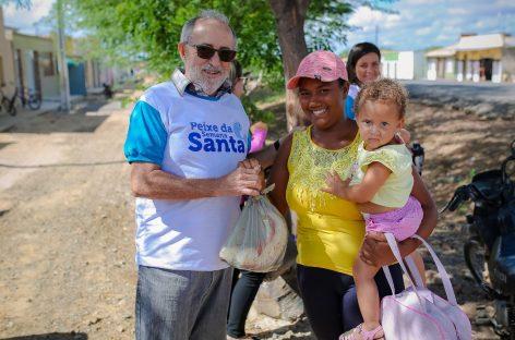 Prefeitura de Tobias Barreto iniciou a distribuição de peixes da semana santa