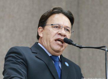 Relator da Comissão de Ética  defende afastamento por 120 dias de Amintas