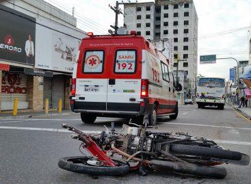 Acidentes motociclísticos continuam liderando estatísticas de atendimentos no Huse