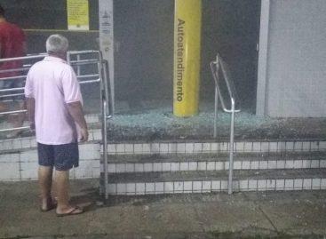 Bandidos explodem agências do Banese e Banco do Brasil em Umbaúba