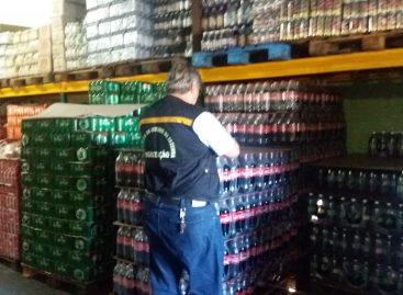 Depósitos de bebidas de cinco municípios são alvo de operação da Sefaz no combate à sonegação