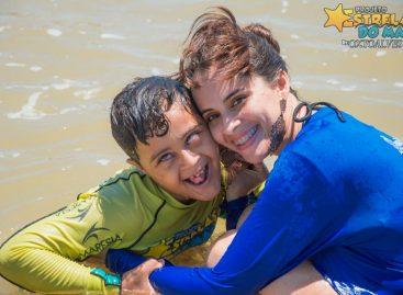 Voluntários do Projeto Estrelas do Mar promove atividades para pessoas com deficiência