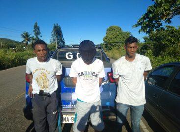 Guarda Municipal de Rosário prende assaltantes logo após assalto