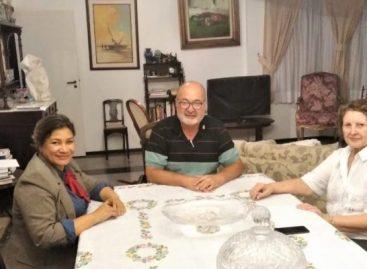 Sindicato dos Radialistas de Sergipe, visita a Senadora Maria do Carmo