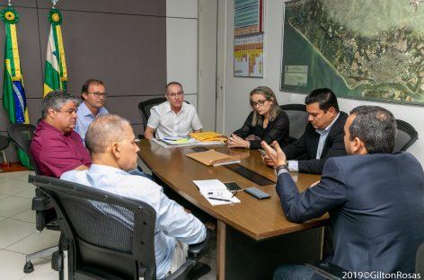 Movimento é de Sergipe faz visita de cortesia a Nitinho na Prefeitura